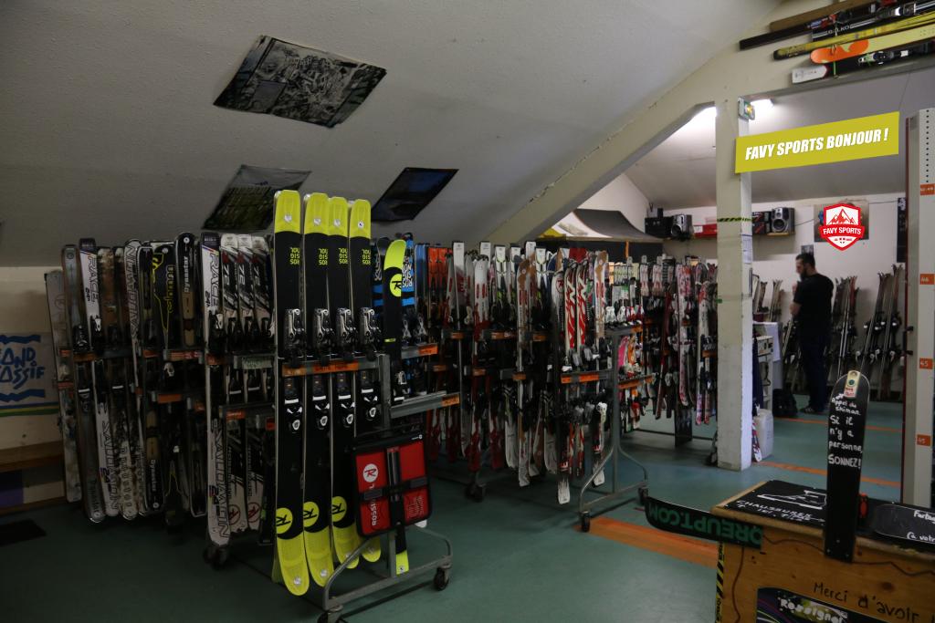 Atelier ski Favy Sports